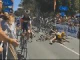 Tour Down Under Cyclists Crash At 70km H