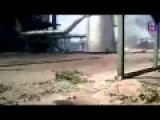 The Destroyed Power Plant Of Shchastya After The Russian Artillery Missile Attack