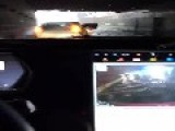 Tesla Model S Swims Through Flooded Tunnel