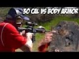 The Legend Jerry Miculeks AR-10 30 Cal Vs. Body Armor With Slow Motion