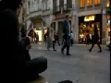Tambourine Guy Street Performance In Turkey
