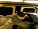 Teens Try To Push Man Off Moving Train