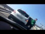 Truck Driver Ends A Chase In Turkey