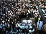 Thousands Of Arab Druze And Jews Grieve At Funeral For Policeman Slain In Jerusalem Terror Attack