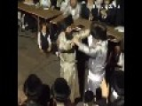 Two Hasidic Men Dance