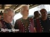 The Warriors Cast On Their Last Subway Ride To Coney Island