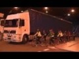 Truck Driver's Blind-spot And Cycling