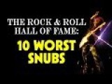 The Rock And Roll Hall Of Fame: 10 Worst Snubs