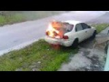 Teenager Sets Wrong Car On Fire