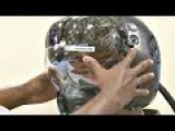 This $400,000 F-35 Helmet Can See Through Plane - Pilot Test Fit