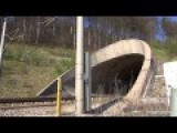 Tunnel Boom Where High Speed Trains Entering Tunnels Cause Booming Noises At The Other End