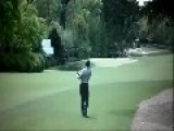 Tiger Woods Curses At 2013 Masters