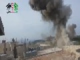 Two Huge Air Strikes Rock Salma, Latakia