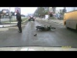 The Accident While Crossing The Road