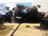 Two Girls Fighting In High School
