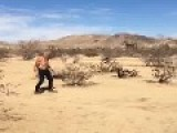 Tommy Chong Stone And Dancing In The Desert