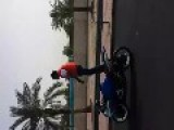Two Motorcyclists Crashed While Showing Off 2