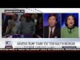 Tucker Carlson Grills Washington Post's Jennifer Rubin For Calling Trump Voters Angry Whites 12 9 16