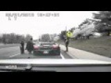 The Cops Pull Batman Out From A Lamborghini Gallardo