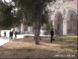 Temple Mount Riot In Jerusalem, Israel 16 04 2014