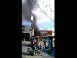 Terror In The Philippines - Car Bombing Captured On Camera