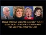 This Video Is Very Disturbing! Roger Stone Annihilates Hillary Your Only Way To Beat Her !