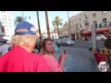 Trump Hater Steals Sign Instantly Regrets It :GETS MACED AND CRIES FOR WATER