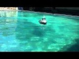 Test Drive HomeMade RC Tugboat Semco