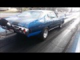 This 1,200hp ProCharged Chevy Chevelle Launching, Burnout And Awesome Sounds