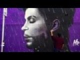 Time Lapse Of Incredible Mural Of Legendary Performer Prince