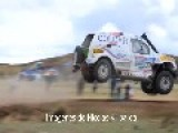 The Dramatic Moment Pato Silva Crashes At Dakar Rally