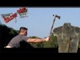 Throwing Tomahawk Vs. Your Body In SLOW MOTION