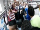 Thats How Brazilians Fight In A Metro Train