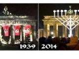 Triumph Of The Jews -Hanukkah Candles Light Up Berlin
