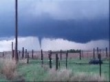 Tornado On The Move In Gove County, Kansas