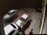 Thief Gets His Ass Kicked. Literally. Camera 2