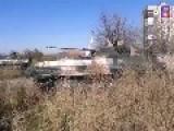 Ukraine - Novorossiya's OPLOT Crew BMP Firing On Ukrainian Recon