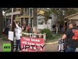 USA: Texan Christians Protest First Ever 'Greater Church Of Lucifer