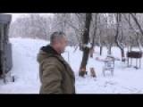 Unexpected War Moments #2 - Ukraine Flag As Frontline Toilet