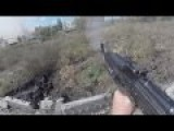 Ukraine War - Novorossian Rebels In Heavy Combat Action During Assault On Donetsk Airport