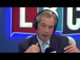 UKIP Nigel Farage On LBC - Tony Blair Calls For A Second Referendum