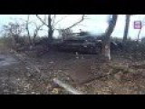 Ukrainian Check Point After Rebel Attack