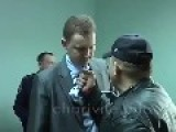 Ukrainian Nacionalists Member Attack Procuror In Front Of The Cameras Longer Vid