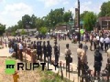 USA: Tensions High In Ferguson After Racist Teen Shooting