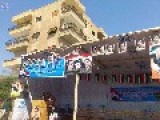 UN Aid Materials Used To Build Assad Election Campaign Tent. Classy
