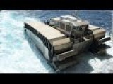 US Marines Test A Massive Hybrid Boat Moving Like A Tank And Capable To Run On Ground
