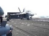 USS Carl Vinson CVN-70 - Carrier Air Wing CVW-17 Flight Deck Operations 2014