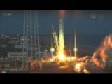Unmanned Antares Rocket EXPLODES On Take Off In Virginia