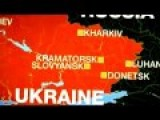 Ukraine Army : Helicopter Shot Down By Pro-Russian Rebels Rebels Less Than 24 Hours