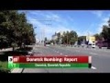 Ukraine Crisis | Donetsk Bombing Report | English Subtitles